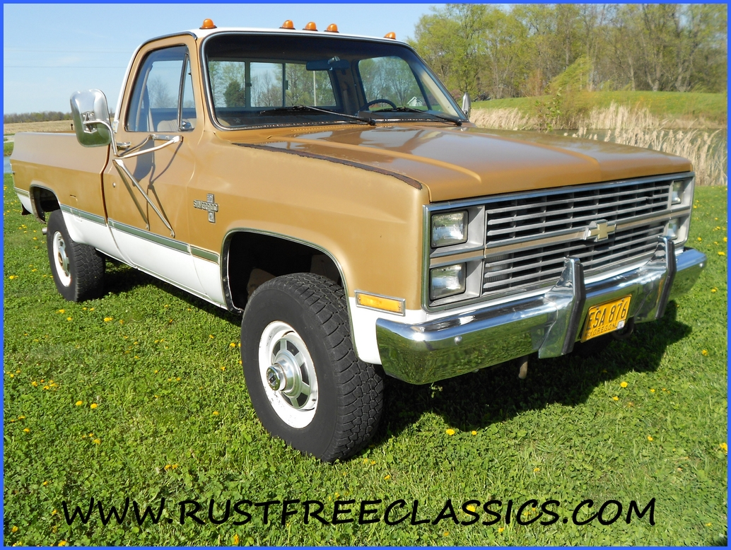 1984 84 Chevrolet Chevy K30 1 one ton 4x4 Four Wheel Drive Regular